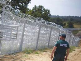 Bulgaria valla frontera