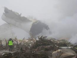 Kirguistan avion estrellado