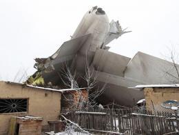 Kirguistan avion turco estrellado