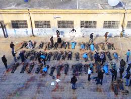 Siria ejecutados regimen
