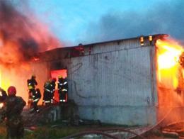 Azerbaiyan incendio baku