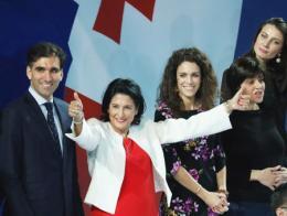 Georgia presidenta zurabishvili