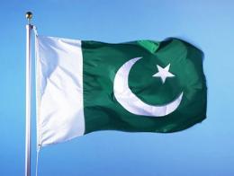 Pakistan bandera paquistani