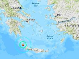 Grecia terremoto creta