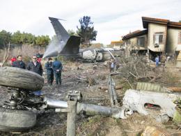 Iran teheran accidente avion