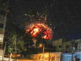 Palestina bombardeo agencia noticias anatolia