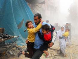Siria bombardeos ninos victimas