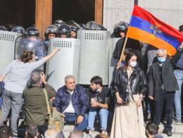 Armenia protestas acuerdo azerbaiyan