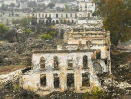 Caucaso karabaj ruinas agdam