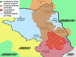 Caucaso nuevas fronteras karabaj