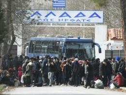Grecia refugiados frontera