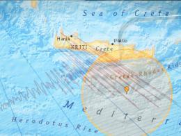 Grecia terremoto mediterraneo creta