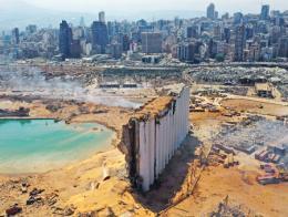 Libano beirut explosion puerto