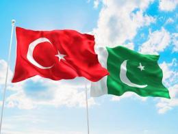 Pakistan turquia banderas