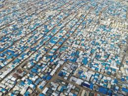 Siria idlib campo refugiados