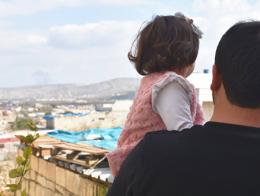Siria nina salwa risa bombas
