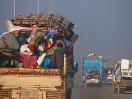 Siria refugiados sirios idlib