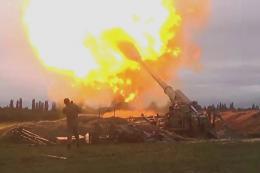 Azerbaiyan combates armenia