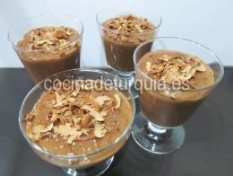 Arroz leche chocolate