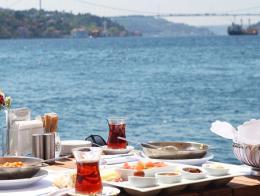 Restaurante turco bosforo estambul