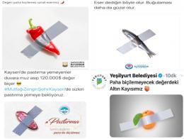 Turquia imitacion obra murizio cattelan