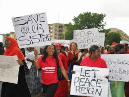 Nigeria protestas ninas secuestro