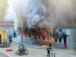 Suecia incendio mezquita