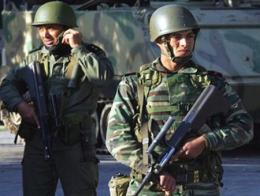Tunez soldados militares