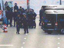 Belgica bruselas policia
