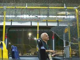 El autobús con periodistas extranjeros tiroteado hace unos días a las afueras de Río