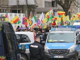 Manifestación de simpatizantes del PKK organizada recientemente en Alemania