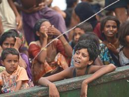 Myanmar refugiados rohinya