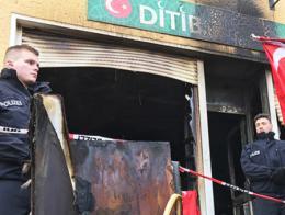 Alemania incendio mezquita turca
