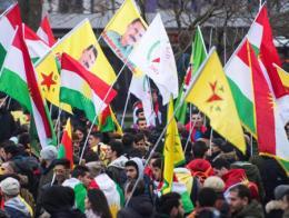 Manifestación de simpatizantes del PKK en Alemania