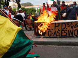 Bolivia disturbios protestas