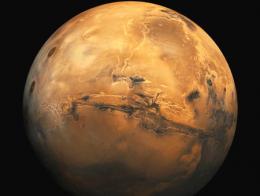 Espacio planeta marte