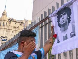 Argentina muerte maradona