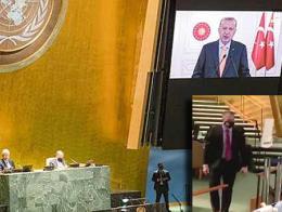 Onu discurso erdogan embajador israel