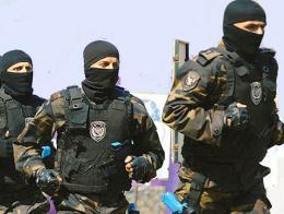 Policia turca fuerzas especiales