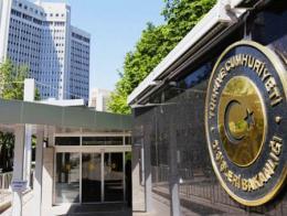 Ankara ministerio exteriores