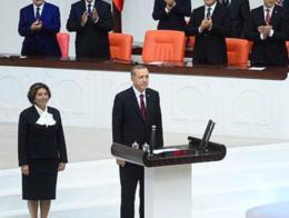 Erdogan jura parlamento