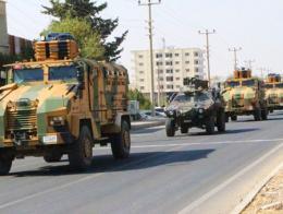 Ejercito turco convoy
