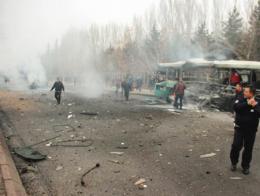 Kayseri atentado explosion