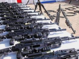 Armas confiscadas al PKK en una operación en Turquía