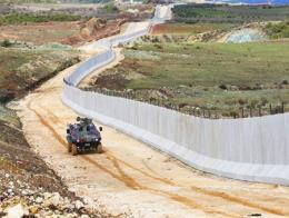 Siria muro frontera