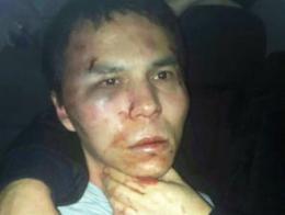 Abdulgadir Masharipov, instantes después de ser capturado por la policía turca