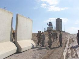 Muro fronterizo iran