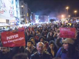 Turquia protestas referendum constitucional