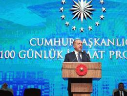 Erdogan presentacion proyectos gobierno