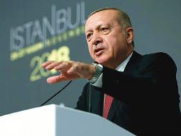 Erdogan presidente turco discurso